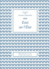 Giuseppe Capograssi - Essai sur l'Etat.