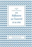 Giuseppe Capograssi - Réflexions sur l'autorité et sa crise.