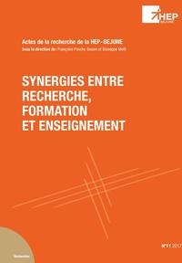 Giuseppe Melfi et Françoise Pache-Gossin - Synergies entre recherche, formation et enseignement.