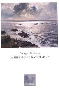 Giuseppe-O Longo - La hiérarchie d'Ackermann.