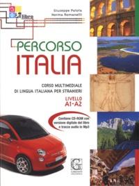 Giuseppe Patota et Norma Romanelli - Percorso Italia - Corso multimediale di lingua italiana per stranieri Livello A1-A2. 1 Cédérom