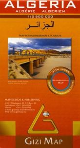 Gizi Map - Algeria Map for Businessmen & Tourists - 1/2 500 000.