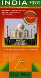 Gizi Map - India - 1/3 000 000.