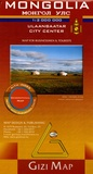 Gizi Map - Mongolia - 1/2 000 000, Map for Businessmen & Tourists.