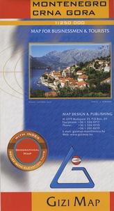 Gizi Map - Montenegro/Crna Gora - 1/250 000.