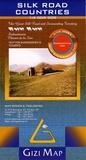 Gizi Map - Silk road countries - 1/3 000 000.