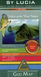 Gizi Map - St Lucia - 1/50 000.