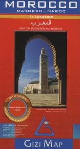 Gizi - Morocco - 1 : 1 250 000.