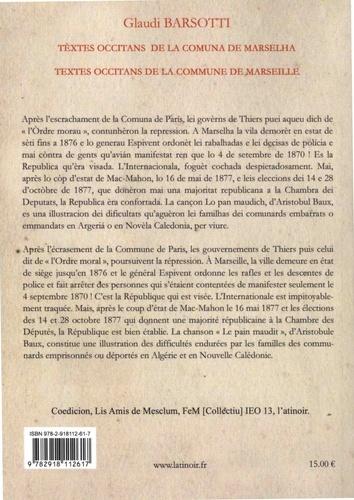 Textes occitans de la Commune de Marseille