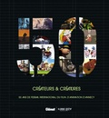 Glénat et  Citia Annecy festival mifa - Créateurs & créatures - 50 ans de festival international du film d'animation d'Annecy. Livre bilingue, français-anglais.