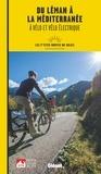 Glénat - Du Léman à la Méditerranée à vélo et vélo électrique - Les p'tites Routes du Soleil.