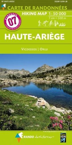 Glénat - Haute-Ariège  1/50.000 - Cartes topographies.