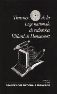 Deedr.fr Travaux de la Loge nationale de recherches Villard de Honnecourt n° 43 2ème série 2000 : La tradition et les volumes de la Loi sacrée Image