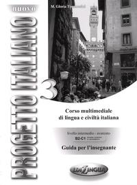 Galabria.be Nuovo Progetto Italiano 3 - B2-C1, Guida Per L'Insegnante Image