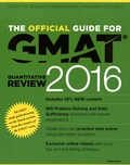 GMAC - The Official Guide for GMAT - Quantitative Review.