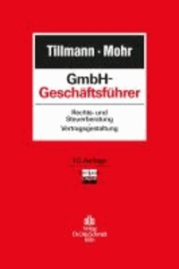 GmbH-Geschäftsführer - Rechts- und Steuerberatung, Vertragsgestaltung.