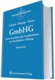 GmbHG Kommentar - Gesetz betreffend die Gesellschaften mit beschränkter Haftung.