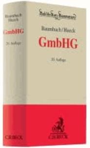 GmbHG - Gesetz betreffend die Gesellschaften mit beschränkter Haftung.
