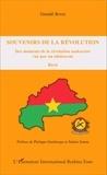 Gnindé Bonzi - Souvenirs de la révolution - Des moments de la révolution sankariste vue par un adolescent.