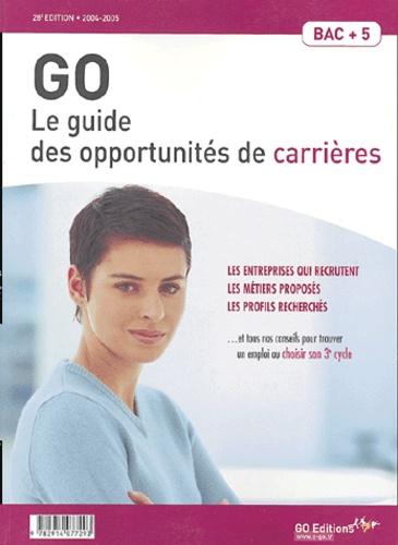 Go Editions - GO - Le guide des opportunités de carrières.