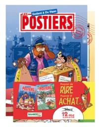 Godard et  Du Vigan - Les Postiers  : Pack 2 volumes - Tome 2; Tome 3.
