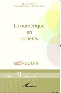 Godefroy Dang Nguyen et Priscilla Créach - Le numérique en sociétés - Actes du 9e séminaire M@rsouin.