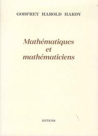 Godfrey Harold Hardy - Mathématiques et mathématiciens.
