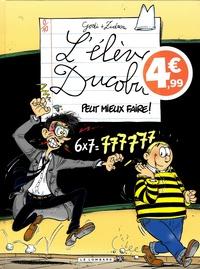 Godi et  Zidrou - L'élève Ducobu Tome 11 : Peut mieux faire !.