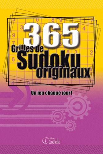 365 grilles de sudokus originaux. Un jeu chaque jour - Goélette (éditions)