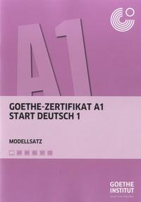 Goethe Institut - Goethe Zertifikat A1 Start Deutsch 1 - Modellsatz. 1 CD audio