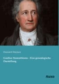 Goethes Stammbäume - Eine genealogische Darstellung.
