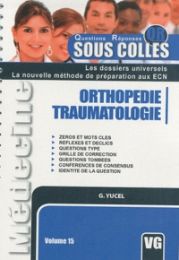 Goktug Yucel - Orthopédie-Traumatologie.