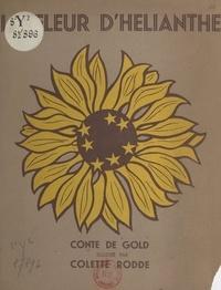 Gold et Colette Rodde - La fleur d'Hélianthe.