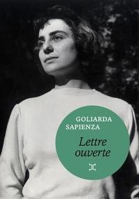 Goliarda Sapienza - Lettre ouverte.