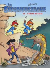 Gos et  Walt - Le Scrameustache Tome 35 : L'antre de Satic.