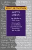Gottes Name(n) - Zum Gedenken an Erich Zenger.