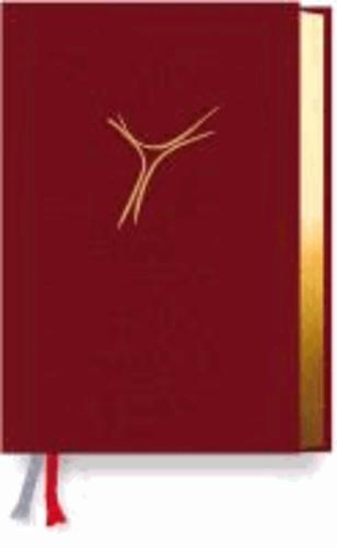 Gotteslob Bistum Essen. Cabra weinrot, Goldschnitt - Katholisches Gebet- und Gesangbuch. Neues Gotteslob für das Bistum Essen.