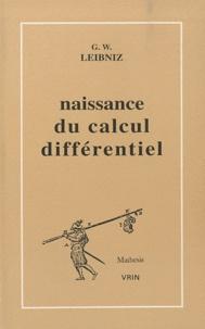 La naissance du calcul différentiel - 26 articles des Acta eruditorum.pdf