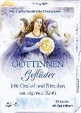 Göttinnengeflüster - Mit Orakel und Ritualen zur eigenen Kraft - 52 Karten mit Begleitbuch.