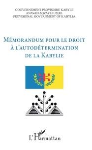 Accentsonline.fr Mémorandum pour le droit à l'autodétermination de la Kabylie Image