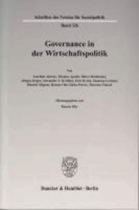 Governance in der Wirtschaftspolitik.