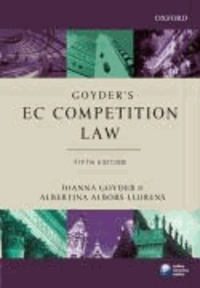 Goyder's EC Competition Law.