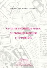 GUIDE DE LACHETEUR PUBLIC DE PRODUITS PAPETIERS ET DIMPRIMES. Edition 1999.pdf