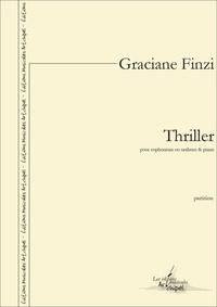 Graciane Finzi - Thriller - pour euphonium ou saxhorn et piano.