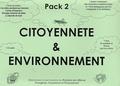 Grad - Pack Citoyenneté et Environnement 2 - 4 Livres de contes, 1 dossier pédagogique, 1 fiche de questions et de jeux pour les enfants. 1 CD audio