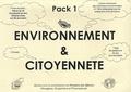 Grad - Pack Environnement et Citoyenneté 1 - 4 Livres de contes, 1 Dossier pédagogique, 1 fiche de questions et de jeux pour les enfants. 1 CD audio