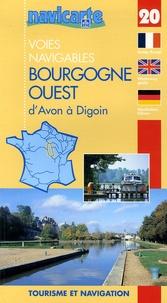 Galabria.be Les voies navigables de la Bourgogne Ouest d'Avon à Digoin - Par les canaux du Loing, de Biare, latéral à la Loire, l'Yonne et le canal du Nivernais Image