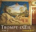 Graham Rust - Trompe L'Oeil - Volume 2 plus de 100 dessins originaux de décoration murale en trompe l'oeil.