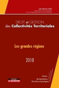 GRALE - Droit et gestion des collectivités territoriales - Les grandes régions.