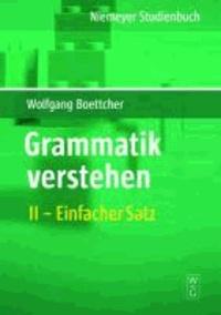 Grammatik verstehen 02.  Satzformen, Satzglieder, Attribute.